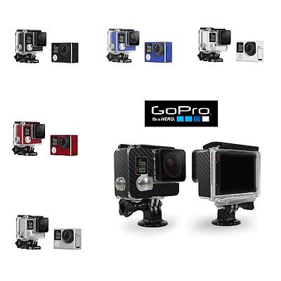 $ CDN12.71 • Buy GoPro Hero 4 Silver - Carbon Fiber Look Skin Wrap Cover Decal For Case & Camera