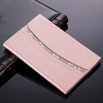 £9.99 • Buy Bling Crystal Magnetic Flip Leather Case Wallet Cover For IPad 234 Air Mini PRO