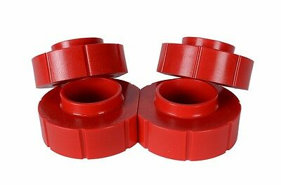 AU78.59 • Buy Jeep Grand Cherokee ZJ 1  Polyurethane Spacer Lift Kit COMPLETE SET OF 4 In RED