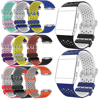 $ CDN6.01 • Buy New Silicone Replacement Band Wrist Strap Bracelet For Fitbit Ionic Large Small