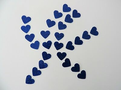 AU3.59 • Buy 100 Blue Valentines Love Hearts Waterproof SPARKLE Shiny Stickers.