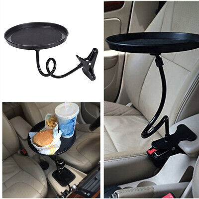 $13.40 • Buy 360° Car Black Swivel Mount Holder Travel Drink Cup Coffee Table Stand Food Tray