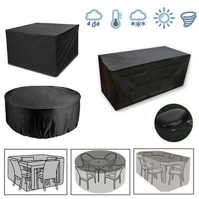 Waterproof Garden Patio Furniture Set Cover Covers For Outdoor Rattan Table Cube • 21.11£