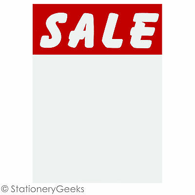 "96 SALE Cards 3x2"" Price Tickets Label Discount Shop Pricing Sign Tag Market UK • 1.99£"