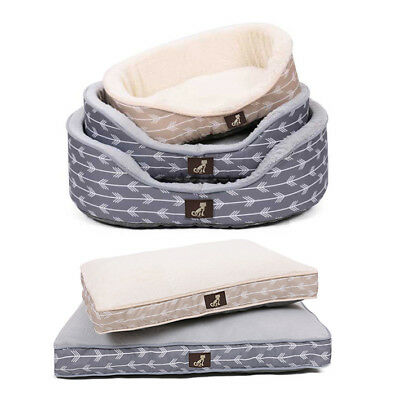 All Pet Solutions Bella Warm Luxury Dog Bed Reversible Cushion Mat Washable • 29.99£