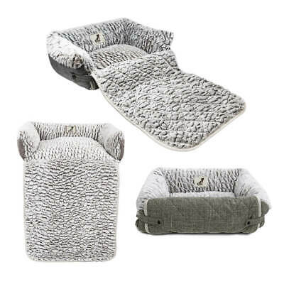 £18.99 • Buy Dog Cat Sofa Bed Fleece Warm Luxury  / Couch / Chair Protector All Pet Solutions