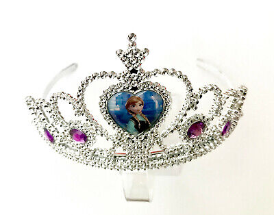 Frozen Elsa Anna Crown Tiara Fancy Princess Costume Accessories Party Uk Gift • 3.99£