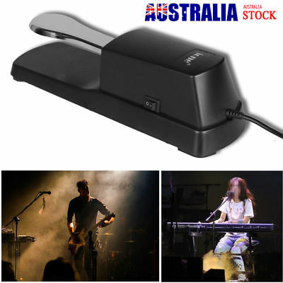 AU27.52 • Buy Piano Keyboard Sustain Damper Pedal For Casio Yamaha Electric Digital Piano AU