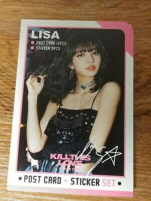 $ CDN23.59 • Buy Lisa BlackPink Photo Post Card Set Sticker KPOP PostCard Black Pink Jennie Rose