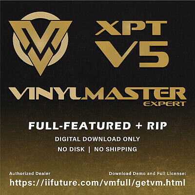 £507.54 • Buy Software Wide Format Printers RIP Clipart VinylMaster XPT Sign Making Program
