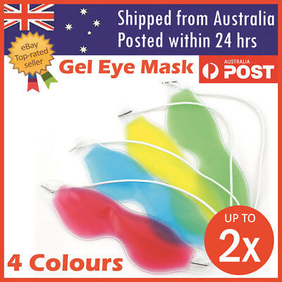 AU6.99 • Buy Relaxing Gel Eye Mask Cold Pack Warm Hot Heat Ice Cool Pad Puffiness Headache