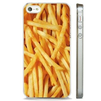 £2.95 • Buy French Fries Chips Food Burger CLEAR PHONE CASE COVER Fits IPHONE 5 6 7 8 X