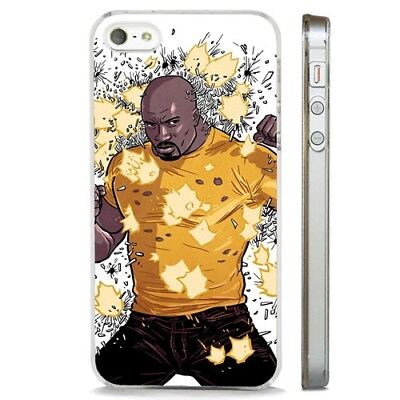 £5.95 • Buy Luke Cage Hero For Hire Marvel CLEAR PHONE CASE COVER Fits IPHONE 5 6 7 8 X