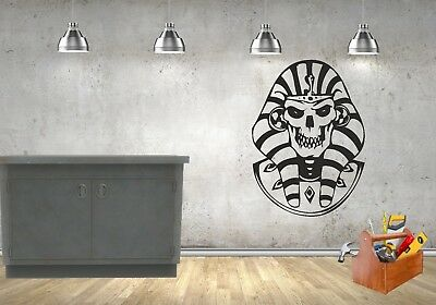 Egyptian Skull Pharaoh Design Wall/car Vinyl/decal/sticker • 10.99£