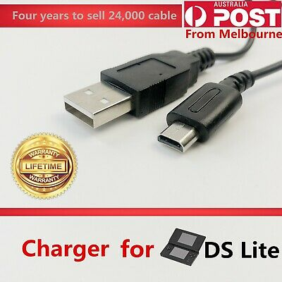 AU3.97 • Buy USB Data Charger Charging Power Cable Cord For Nintendo DS Lite DSL NDSL USG-001
