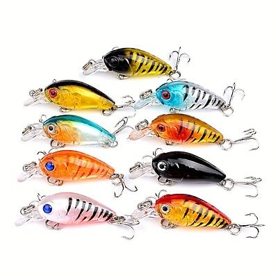 AU14.95 • Buy 9 X Trout Fishing Lures Flathead Bream Perch Lure Redfin Bass Lures Tackle