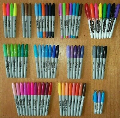 £2 • Buy 1x Sharpie Permanent Pen ULTRA/FINE/BROAD/FLUORESCENT/MINI/2-Ended- 100+ Choices