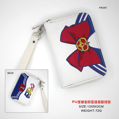 $4.99 • Buy HOt Anime Sailor Moon Cosplay PU Leather Purse Wallet