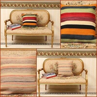 £5.99 • Buy Handmade On Hand Loom Modern Style Cushion Covers, Soft Texture, Best Gift Guide