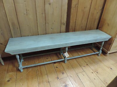£185 • Buy Old School Solid Oak And Ash Long Window Or Hall Bench
