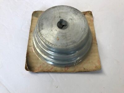 AU32.17 • Buy NOS Chicago #149 3 Step Pulley 5/8  Bore 3 , 3 1/2 , 4  Lathe Drill Press