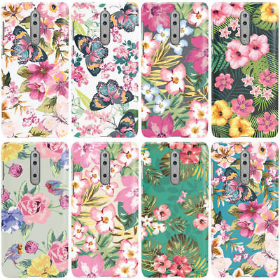 £4.95 • Buy Dyefor Tropical Style Pattern Designs Print Phone Case Cover For Nokia