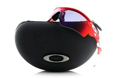 AU199.95 • Buy NEW Authentic OAKLEY RADARLOCK PATH Infrared Red Iridium Sunglasses OO 9206-12