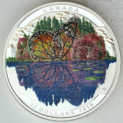 $78.78 • Buy 2016 $20 Fine Silver Coin - Landscape Illusion: Butterfly