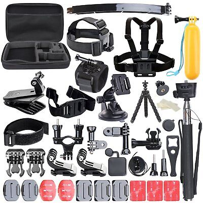 $ CDN68.38 • Buy Accessories Kit Set For GoPro Hero 6 5 4 3 2 1 Session Sports Camera With Case
