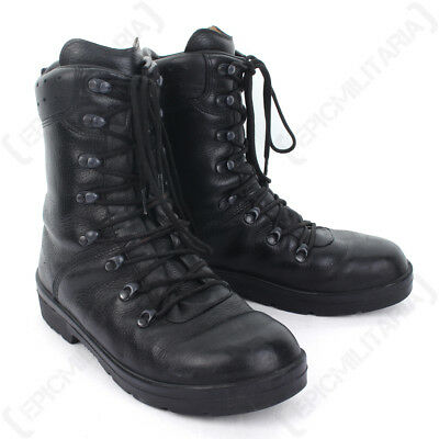 $74.98 • Buy German Army Combat Boots - Moulded Leather Winter Military Cadet Patrol Surplus