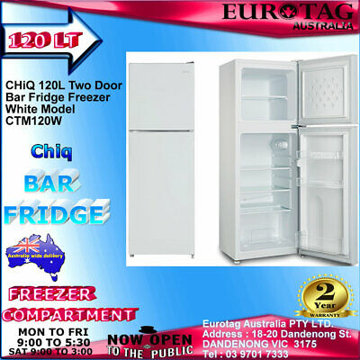 AU199 • Buy CHiQ CSR128W 126L Bar Fridge WHITE  Brand New 2 Years Warranty