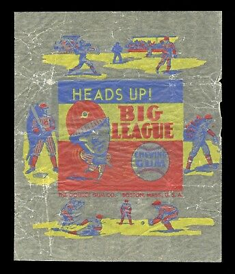 $799.99 • Buy 1938 Goudey Heads Up Baseball Gum Card Wrapper 8 Figure Variety RARE!