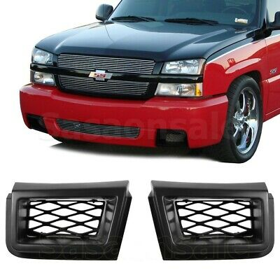 $69.99 • Buy Made For 2003-2007 Chevy Silverado 1500 SS Front PU Bumper Caliper Air Duct PAIR