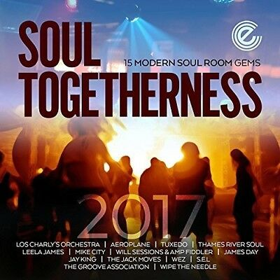 Soul Togetherness 2017 - Various Artist (2017, CD NIEUW) • 9.98£
