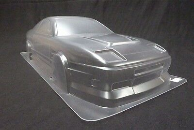 1/10 RC Car PC Clear Body Shell 190mm Nissan S13 180SX • 25£