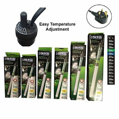$ CDN17.14 • Buy Aquarium Heater Fish Tank Submersible Thermostat With Thermometer HIDOM