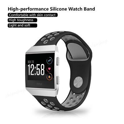 $ CDN11.35 • Buy Silicone Sport Bracelet Watch Strap Watchband Replacement Band For Fitbit Ionic