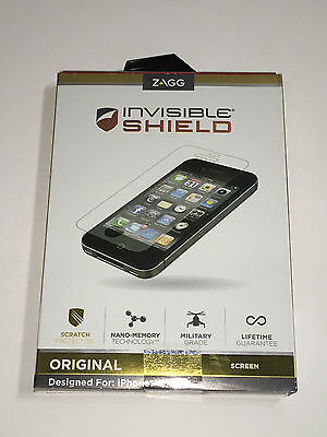 £2.82 • Buy ZAGG Invisible Shield Screen Protector IPhone 4 4S FFAPLIPHONE4GSS ✅❤️️✅❤️️ NEW