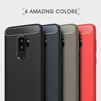 AU6.99 • Buy For Samsung Galaxy S8 S9 Plus Case Shockproof TPU Heavy Duty Tough Cover