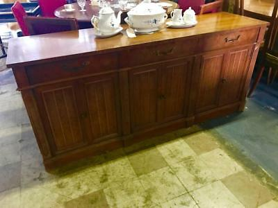 AU599 • Buy Vintage American Of Martinsville 3 Drawer Farmhouse Style Sideboard