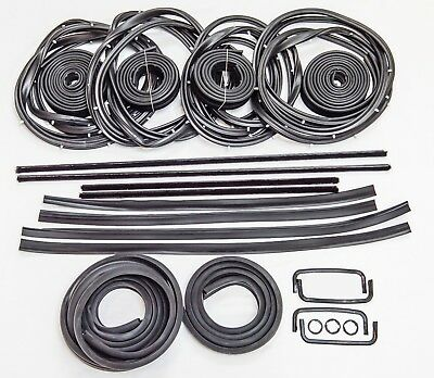 AU724 • Buy HOLDEN COMMODORE VB VC VH SEDAN RUBBER KIT DOOR WEATHER SEAL BAILEY 27pcs