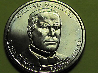 $4.95 • Buy 2013 D - William McKinley Presidential Golden Dollar Coin