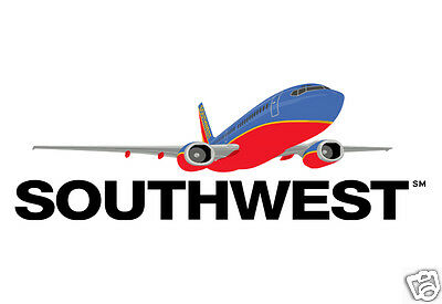 $6.95 • Buy Southwest Airlines 2000 Logo Handmade 3.25  X 2.25  Fridge Magnet (LM14017)