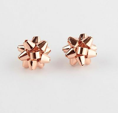 $ CDN167.43 • Buy Rose Gold ✦ Kate Spade Bourgeois Bow Earrings Gift Box Christmas NIB AUTHENTIC