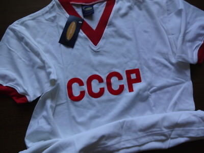 £53.12 • Buy CCCP Russia 100% Official Repro Soccer Football Jersey Shirt L 60's Reissue NWT