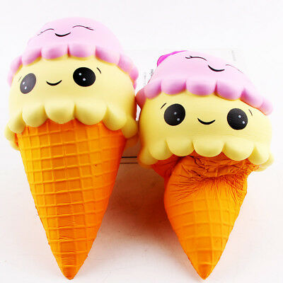 AU1.99 • Buy Cone Soft Cute Squishy Squishies 22CM Ice Cream Slow Relief Toys Xmas Gift