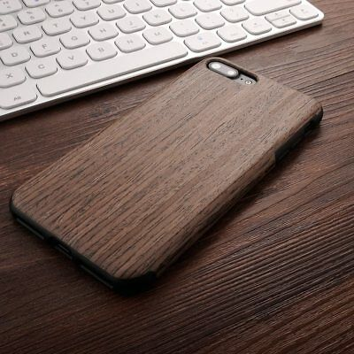 Ultra Slim Soft TPU Natural Wooden Pattern Phone Cover Case For IPhone Samsung • 4.19£