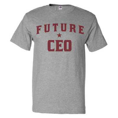 $20.95 • Buy Future CEO T Shirt Funny CEO Tee