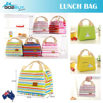 AU7.95 • Buy Portable Insulated Thermal Cooler Lunch Box Carry Tote Picnic Case Storage Bag