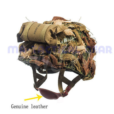 $79.99 • Buy Wwii Army Us M1c Camouflage Tactical Helmet Paratrooper Airborne Military Suit